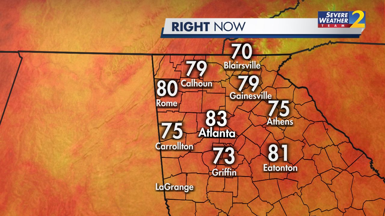 Atlanta Radar - Interactive Weather Map